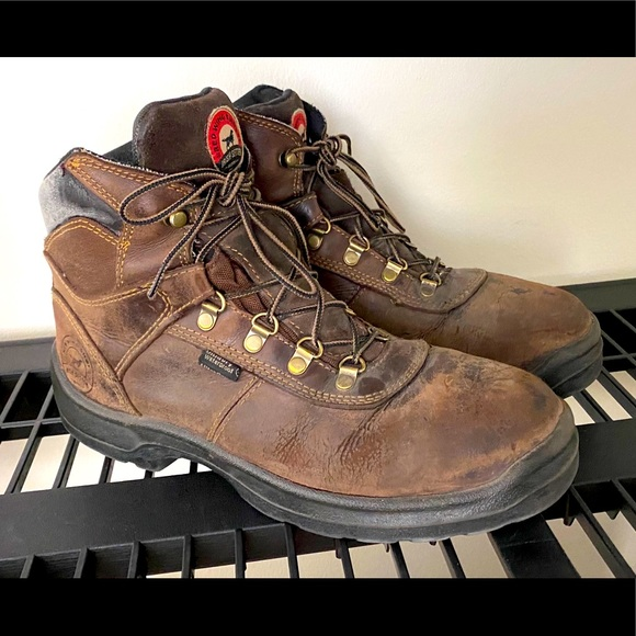 Red Wing Boots Size 105 Mocha Brown
